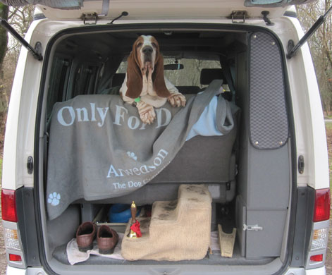 Chevrolet waiting for the off (the Basset Hound not the van)
